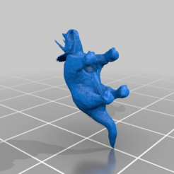 tribody.png Download free STL file Triceratops complete • 3D printing object, jerrycon