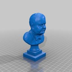 b3703241a6ee2ced76ca3d6b7f7ac2cd.png Télécharger fichier STL gratuit Buste de Churchill • Plan imprimable en 3D, jerrycon