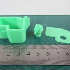 IMG_2368.JPG Télécharger fichier STL gratuit Bunker avec tourelle Hotchkiss H39 • Design imprimable en 3D, jerrycon