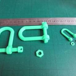 IMG_2349.JPG Télécharger fichier STL gratuit Crochet de remorquage de type char (manille) • Design pour imprimante 3D, jerrycon