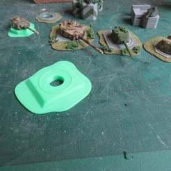 IMG_2437.JPG Télécharger fichier STL gratuit Bunker à tourelle pour Panther ou Tiger1 • Objet imprimable en 3D, jerrycon