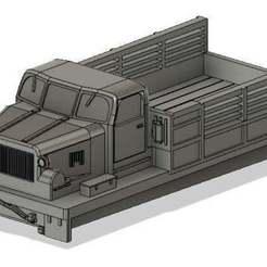 At-t__pic.jpg Télécharger fichier STL gratuit Tracteur soviétique At-t à l'échelle 1/100 • Design pour imprimante 3D, jerrycon