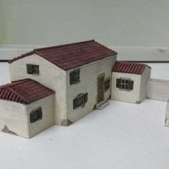 IMG_2187.JPG Télécharger fichier STL gratuit Maison de style méditerranéen • Modèle imprimable en 3D, jerrycon