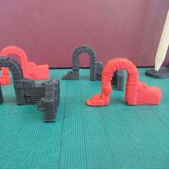 IMG_1716.JPG Download free STL file Archway for gaming • 3D printing object, jerrycon