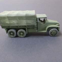 IMG_2851.JPG Télécharger fichier STL gratuit Mack Pas de camion américain WW2 à l'échelle 1/100 • Modèle pour impression 3D, jerrycon
