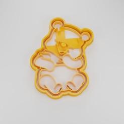 Render3.jpg Télécharger fichier STL L'emporte-pièce de Winnie l'ourson • Design pour impression 3D, Worksharq