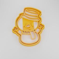 Render.jpg Télécharger fichier STL L'emporte-pièce du bonhomme de neige • Design à imprimer en 3D, Worksharq