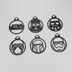 Render.jpg Download STL file Star Wars Spheres • 3D printing object, Worksharq