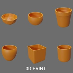 1-6.jpg Download free STL file Vases Basic model • Design to 3D print, Worksharq