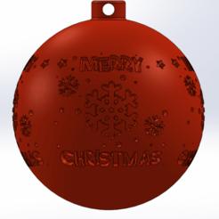 xmas1.png Télécharger fichier STL Décoration de l'arbre de Noël • Design à imprimer en 3D, Marlbor0