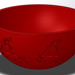 Untitled1.png Télécharger fichier STL Bol avec décoration sur le thème de Noël • Objet à imprimer en 3D, Marlbor0