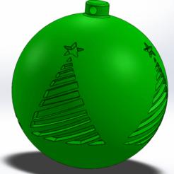 x-mas 2.png Télécharger fichier STL Décoration de l'arbre de Noël • Design à imprimer en 3D, Marlbor0