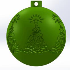 xmas5.png Télécharger fichier STL Décoration de l'arbre de Noël • Design à imprimer en 3D, Marlbor0