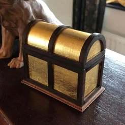 gilt_chest_t.jpg Télécharger fichier STL gratuit Coffre au trésor • Modèle pour imprimante 3D, rba100