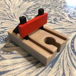 Photo_03-03-2020_17_08_57.jpg Télécharger fichier STL gratuit Tampon ferroviaire Brio • Plan pour imprimante 3D, rba100