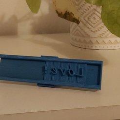 20201128_170824.jpg Télécharger fichier STL Embosseur, emporte pièce, tampon alphabet • Design pour imprimante 3D, laubedesmakers