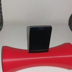 20201114_160759.jpg Télécharger fichier STL amplificateur de son pour téléphone • Design à imprimer en 3D, laubedesmakers