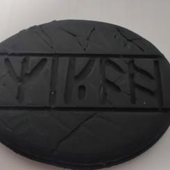 IMG_20201116_182543 (1).jpg Télécharger fichier STL Kili's runic stone - The Hobbit • Modèle à imprimer en 3D, StevenG