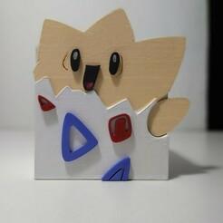 WhatsApp Image 2021-01-02 at 22.27.19.jpeg Télécharger fichier STL Pot de fleurs Pokemon - Togepi / Plante / Maceta Pokemon / Togepi • Plan pour impression 3D, Pinheeaad