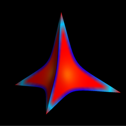 Concave_quadratic4_Reuleaux_tetrahedron.png Download free STL file Quadratic Concave 4 Tetrahedron Reuleaux • Model to 3D print, Nicosahedron