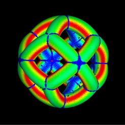 spherical_tetrahedron_double2.png Télécharger fichier STL gratuit Spherical tetrahedron double • Design imprimable en 3D, Nicosahedron