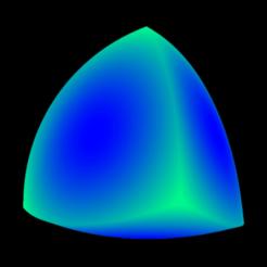 Inflated_Reuleaux_tetrahedron2.png Télécharger fichier STL gratuit Inflated Reuleaux tetrahedron • Modèle imprimable en 3D, Nicosahedron