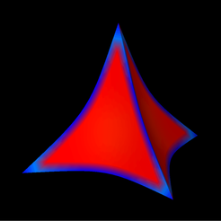 Concave_quadratic2_Reuleaux_tetrahedron.png Download free STL file Quadratic Concave 2 Tetrahedron Reuleaux • 3D printing model, Nicosahedron