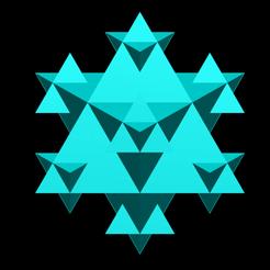koch_snowflake_lvl=2.png Download free STL file Koch snowflake 3D iteration 1 • 3D print template, Nicosahedron