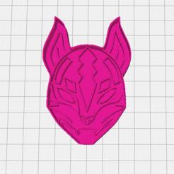 Deriva.PNG Download STL file Fortnite mask of Drift Cookie Cutter • 3D printing model, mikegenius