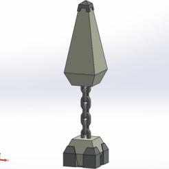 floating_obelisk_sld.png Télécharger fichier STL gratuit obélisque flottant • Objet pour impression 3D, Boubamazing