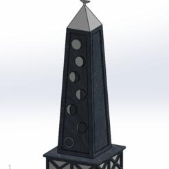 moon_obelisk_sld.png Télécharger fichier STL gratuit obélisque de la lune • Plan imprimable en 3D, Boubamazing