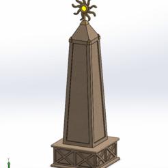 sun_obelisk_sld.png Télécharger fichier STL gratuit obélisque solaire • Objet à imprimer en 3D, Boubamazing