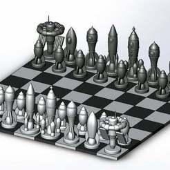 rocket_chess_1.JPG Download free STL file Rocket chess • 3D printing model, Boubamazing