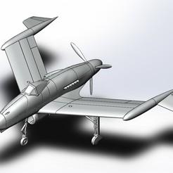 final assembly.JPG Télécharger fichier STL Blohm & Voss P.208.03 (1:72) - Luft 46 • Modèle à imprimer en 3D, Boubamazing