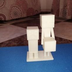 20201112_091706.jpg Télécharger fichier OBJ Enderman Creeper • Modèle pour impression 3D, ElBandoleroso
