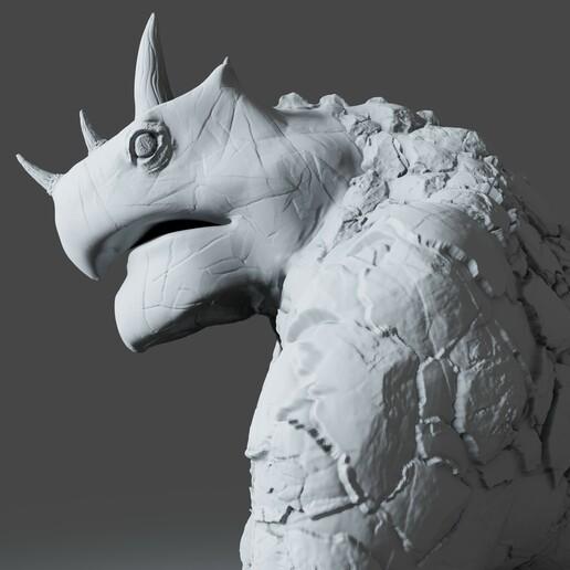 Preview9.jpg Download STL file Gorilla Turtle Monster - 3D Print Model • 3D printer object, DudeX