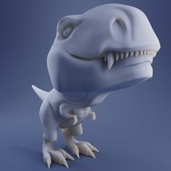 Preview1.jpg Download STL file Rexi 3D Print Model • 3D print design, DudeX