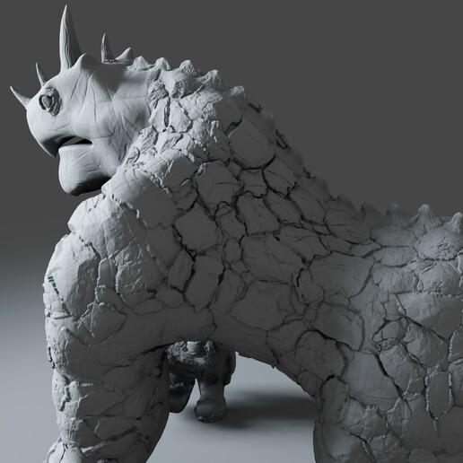 Preview5.jpg Download STL file Gorilla Turtle Monster - 3D Print Model • 3D printer object, DudeX
