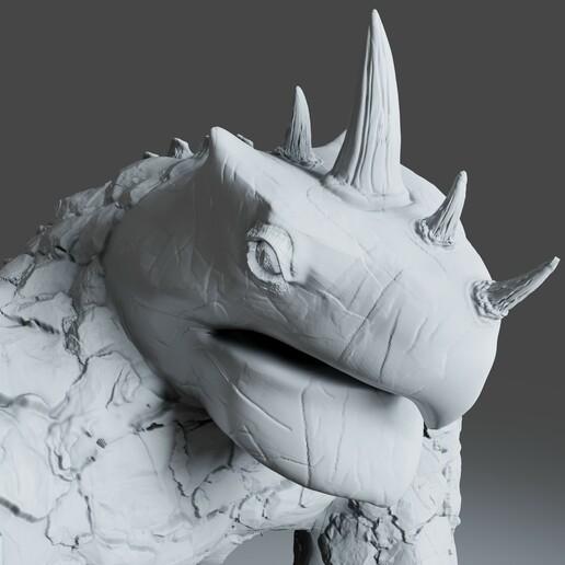 Preview8.jpg Download STL file Gorilla Turtle Monster - 3D Print Model • 3D printer object, DudeX