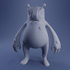 Preview1.jpg Download STL file Hugo The Monster • 3D print model, DudeX
