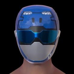 Screenshot_1.jpg Download STL file Beast Morphers Blue Ranger Helmet 3d printing model • 3D printable design, HeroesProps