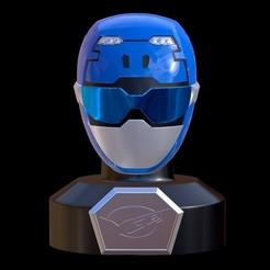 Screenshot_6.jpg Download STL file Go Busters / Beast Morphers Mini Helmet 3D Print Model • Design to 3D print, HeroesProps