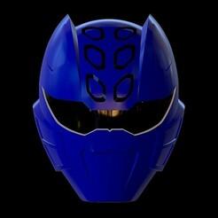 Screenshot_10.jpg Télécharger fichier STL Modèle d'impression 3d du Blue Ranger Jungle Fury Helmet • Modèle pour imprimante 3D, STLHero