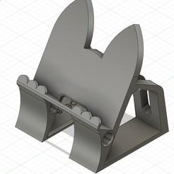 Immagine_1.jpg Download STL file Pet toy Phone / Tablet Holder • 3D printable design, pelle_3dp