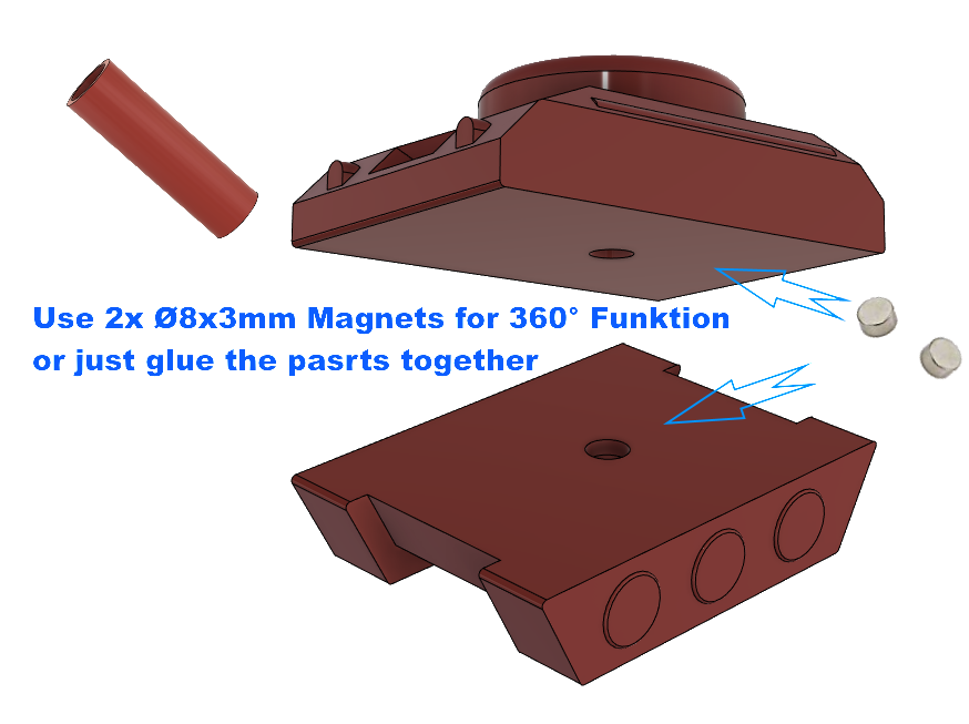 "Bild4.png Download STL file Egg-Tank ""eat this, b*tch"" • Object to 3D print, poorcactus"