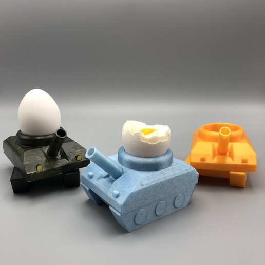 "FAV2.JPG Download STL file Egg-Tank ""eat this, b*tch"" • Object to 3D print, poorcactus"
