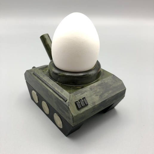 "FAV4.JPG Download STL file Egg-Tank ""eat this, b*tch"" • Object to 3D print, poorcactus"