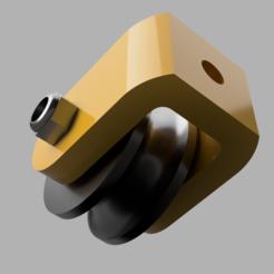 b3f52e90-5526-4999-aafd-17e21d8f739b.PNG Download free STL file pulley for panels | m5 bolt • 3D printer object, bollapapale
