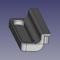 Poignée Porte Mini four MoulinexType 893.png Download free STL file Moulinex Mini Oven Door Handle • Template to 3D print, frouineric