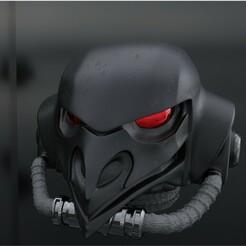 Render 1.jpg Télécharger fichier STL gratuit Standard des casques Elite Broody Magpies. • Plan pour impression 3D, Daetis